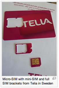 simcard sizes